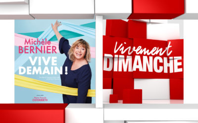 Actus Vivement Dimanche 77 Michèle Bernier