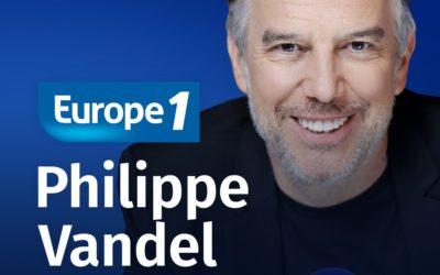 Michel invité de Culture Médias sur Europe 1