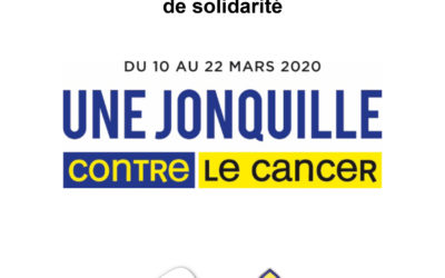 Institut Curie: Une jonquille contre le cancer