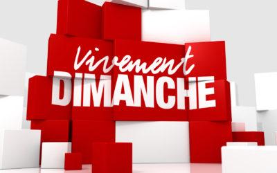Emotion et humour Vivement Dimanche du 04/04/2021
