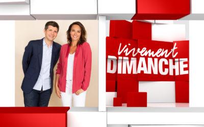Vivement Dimanche Thomas Sotto et Julie Vignali