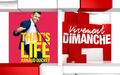 Infos Vivement Dimanche  du 03/10/2021